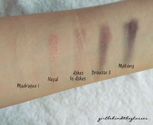 Narsissist Eye Palette row2 swatches