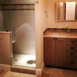 bathroom reno - lakbdesign & home with heart