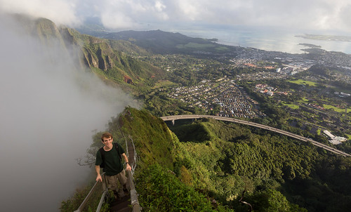 stairs hawaii haiku hiking hike kaneohe climbing stairwaytoheaven