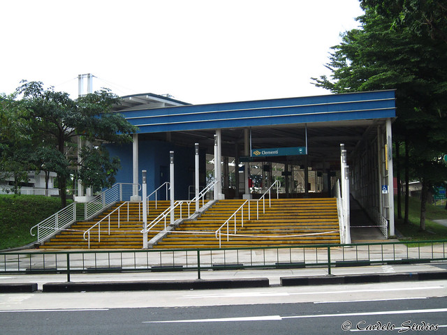 Clementi Temporary Bus Interchange 01