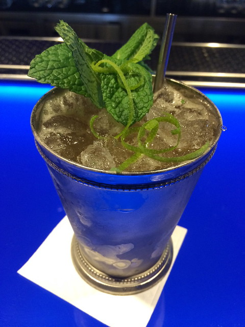 Fernet Julep cocktail - Hakkasan