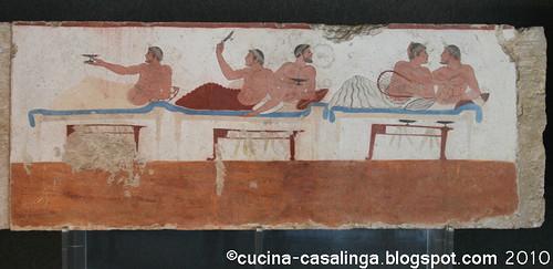 Paestum Grabplatte 1