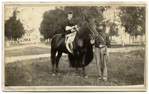 A Cavalryman and His Lady