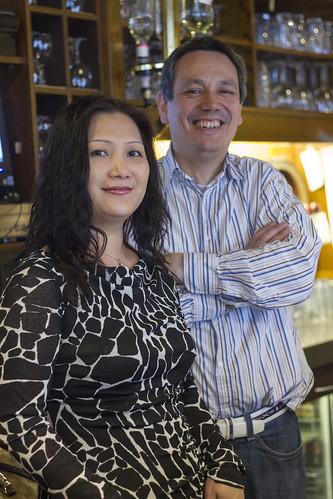 De eigaren van Café de Tuymelaer