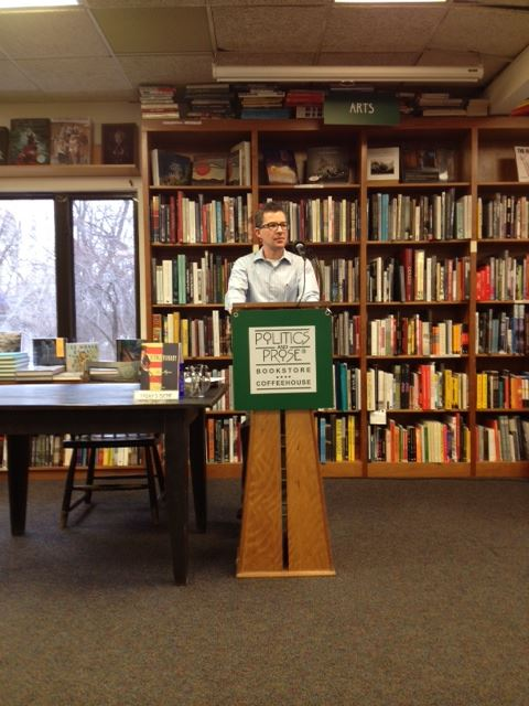 Alex Myers at Politics & Prose, 26 Jan 2013