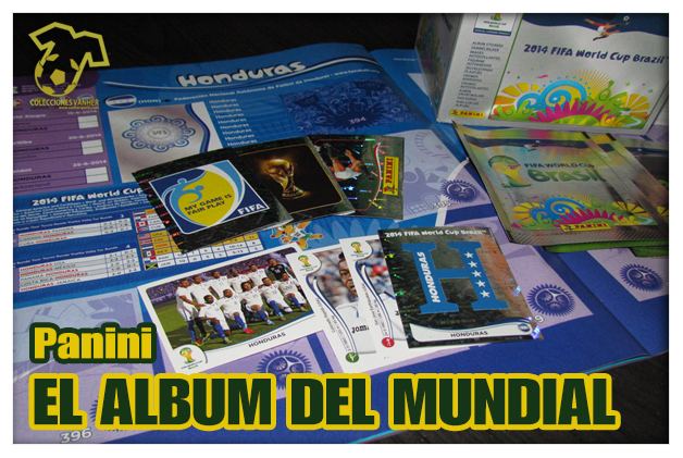 Álbum Panini Brasil 2014
