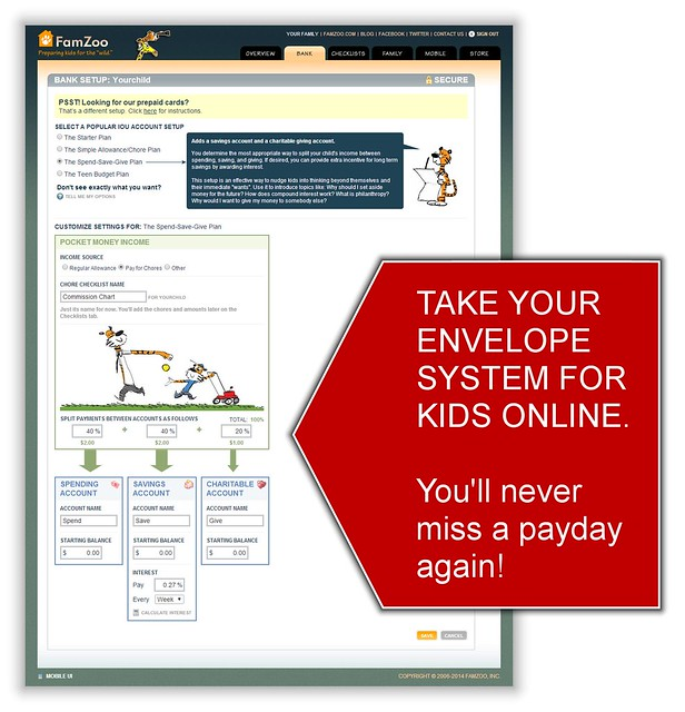 Online Envelope System for Kids: Never Miss a Payday Again!