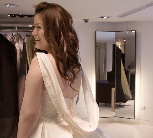 豐腴女孩也能挑到漂亮婚紗24