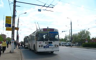 Tula trolleybus 14 ЗиУ-682Г [Г00] build in 1992, withdrawn in 2012