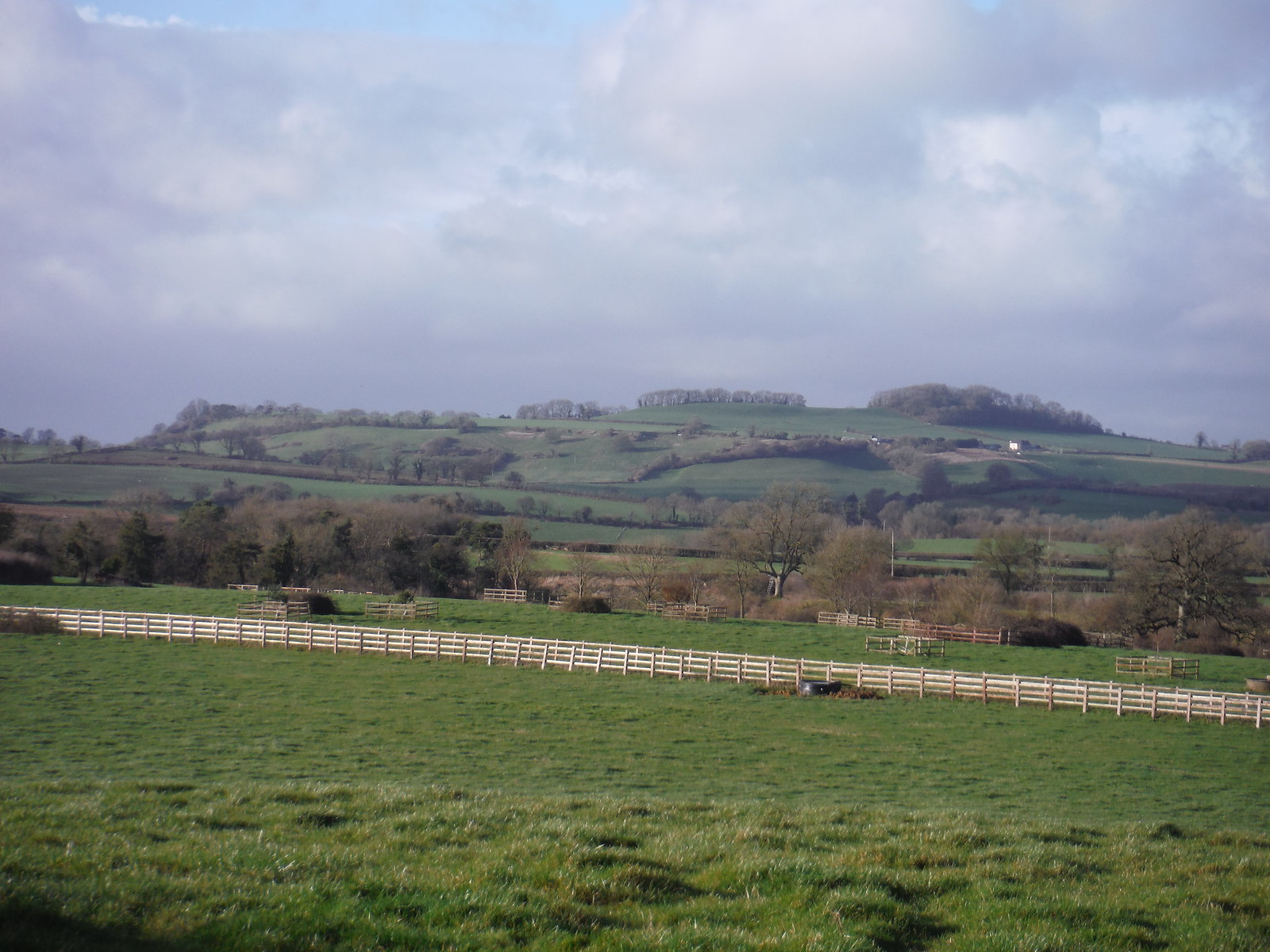 Creech Hill, from Cliff Hill SWC Walk 284 Bruton Circular (via Hauser & Wirth Somerset) or from Castle Cary