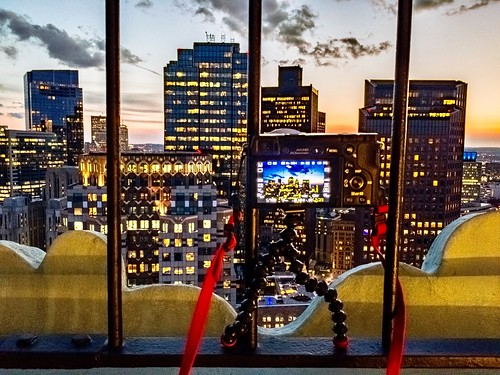 gorillapod behindthescenes hdrraw lightroommobile a6000 skyscrapers sonya6000 alpha6000 massachusetts sunset customhousetower view city boston clouds downtown sony sonyalpha newengland