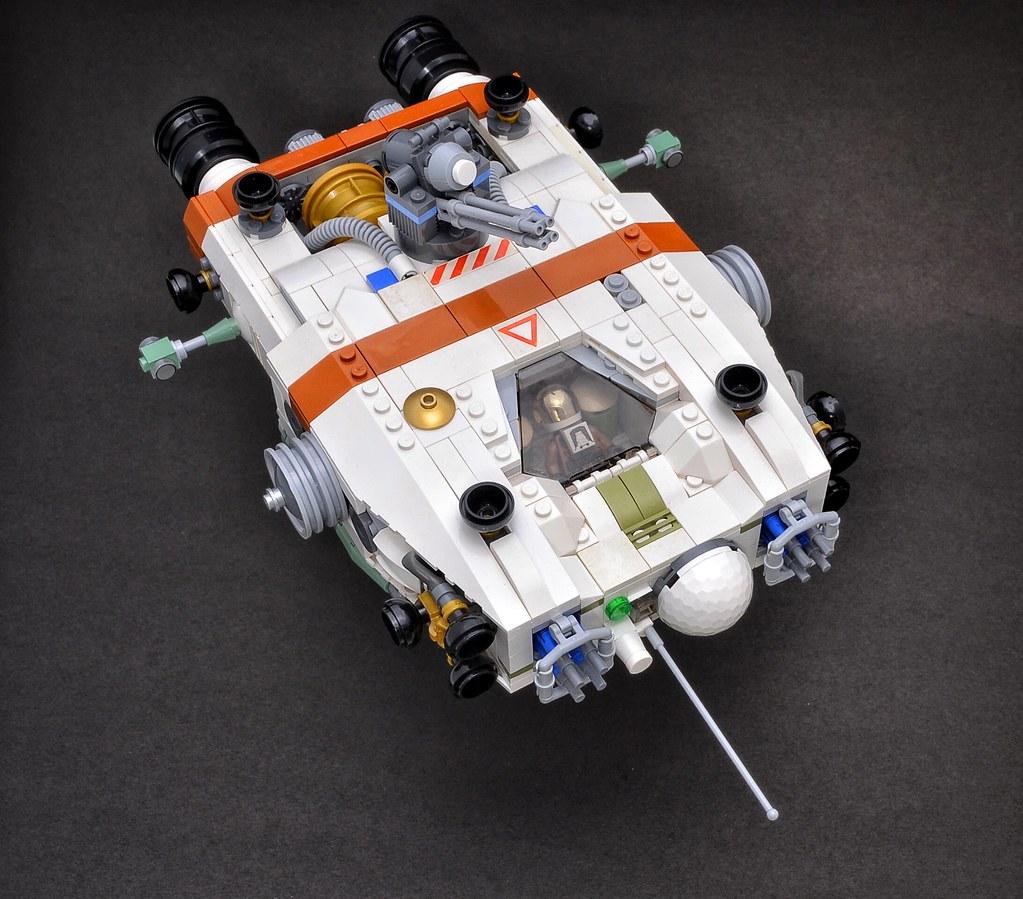 Thales Orbital Defence Orcinus Class PAD Gunboat (custom built Lego model)