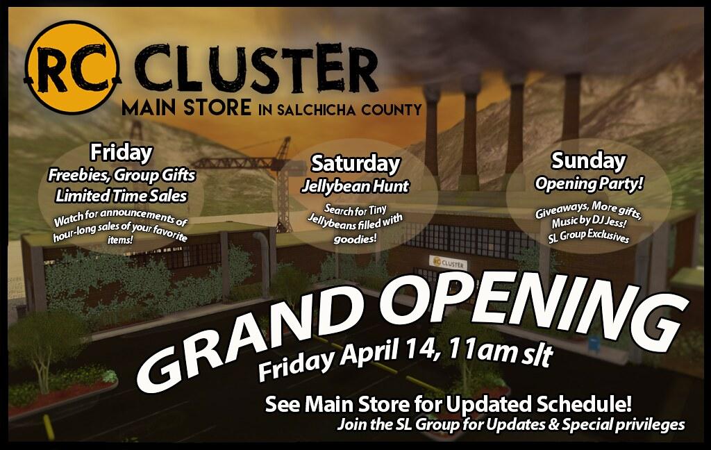 -RC- Cluster Brand New Main Store - SecondLifeHub.com