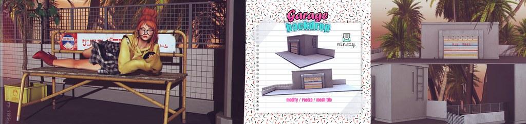 ninety - Garage Backdrop @[Draftsman] - SecondLifeHub.com