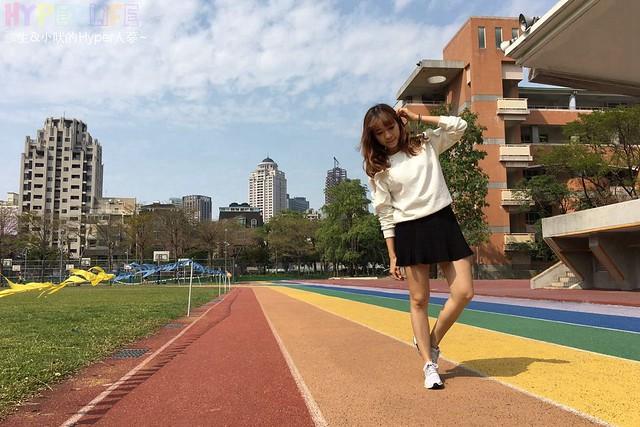 台中惠文國小彩虹跑道 (4)