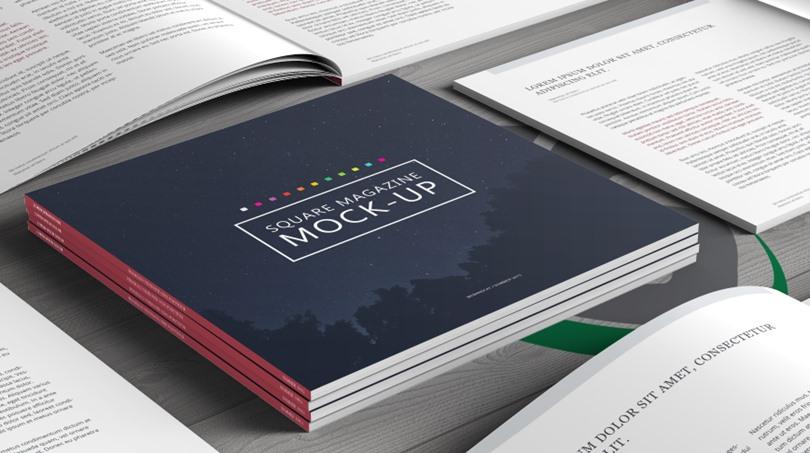 PSD Magazine Mockup - PSD Magazine Mockup