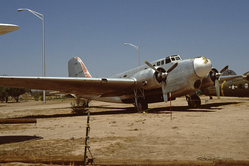 Douglas B-18 Bolo at the Pima Air & Space Museum, July 1980.