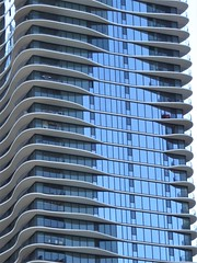 Chicago, Aqua Tower (Architect: Jeanne Gang)