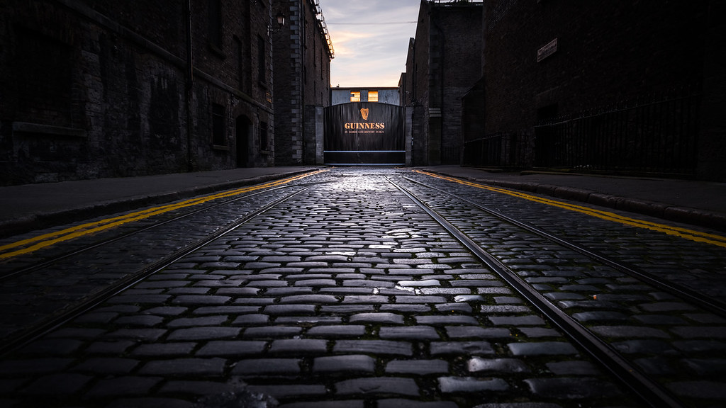 Guinness storehouse gate, Dublin, Ireland picture