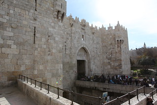 The Wall of the Old city of Jerusalem