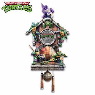 卡哇邦嘎 Cowabunga!《忍者龜》咕咕鐘 Teenage Mutant Ninja Turtles Cuckoo Clock