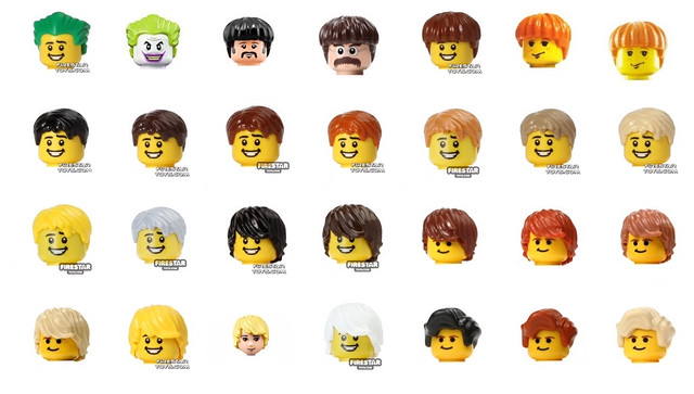 Lego hair pieces - Minifig Customisation Worksp - Eurobricks Forums