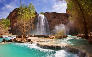 Havasu Falls Grand Canyon National Park | by The Bei Posti