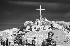 Salvation Mountain - Crosses