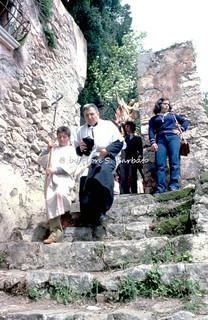 Preturo di Montoro Inferiore (AV), 1973, Pelleginaggio alla Grotta dell'Angelo.