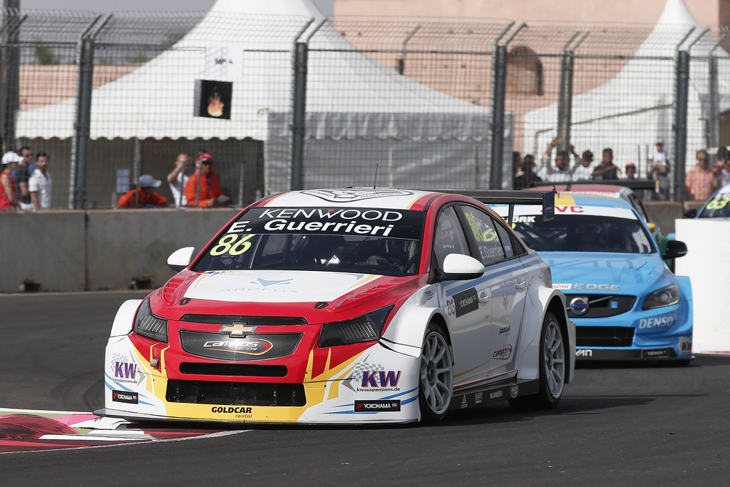 86 GUERRIERI Esteban (arg) Chevrolet RML Cruze team Campos racing action during the 2017 FIA WTCC World Touring Car Race of Morocco at Marrakech, from April 7 to 9 - Photo Jean Michel Le Meur / DPPI.