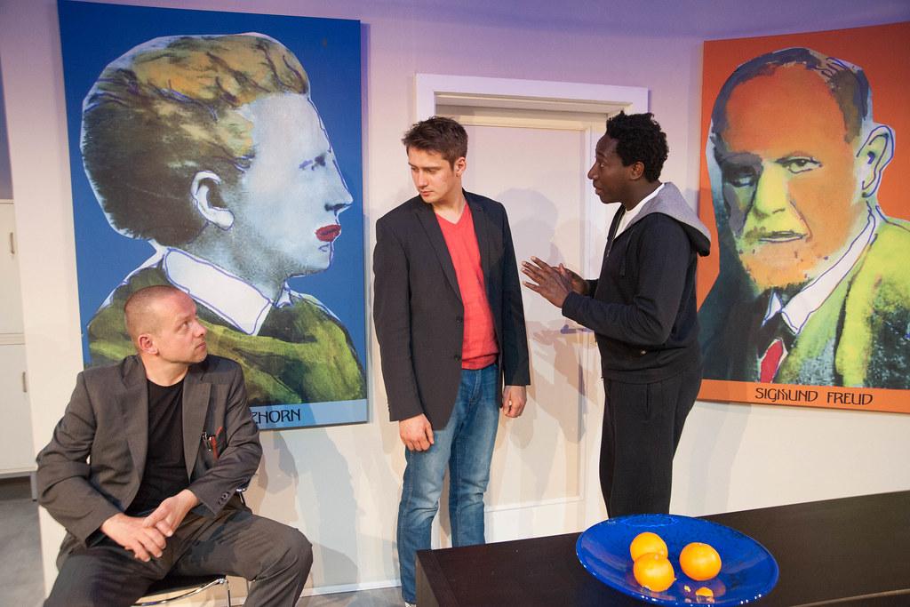 Ausgebucht! BLAU  ORANGE von Joe Penhall • Zimmertheater Heidelberg