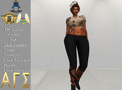 AGS INC. Womens Dancer Outfit Mesh