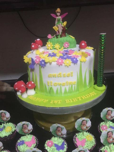 Tinkerbell Cake by Shayne Etheridge Semerad of Shayne's Sweets