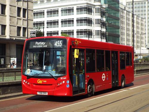 GAL Metrobus SE169, YX61EKH - Route 455 | Croydon Town Centre