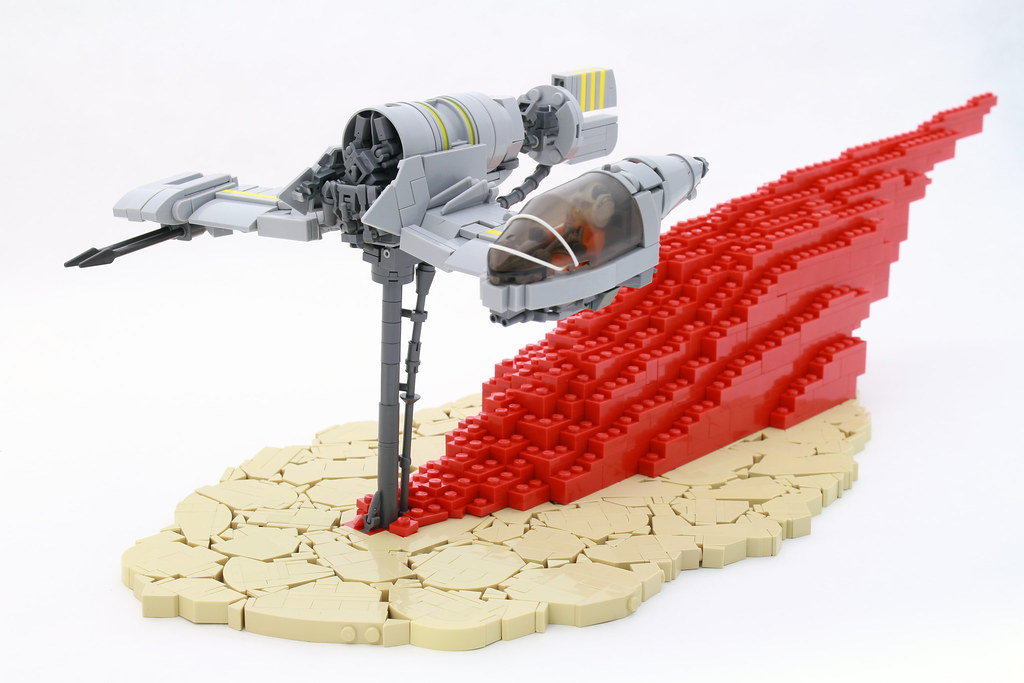Resistance Skimmer (custom built Lego model)