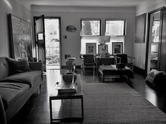 Living Room B&W I