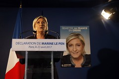 Europe News: The Latest: Le Pen calls for restoration of France?s borders, Top Stories