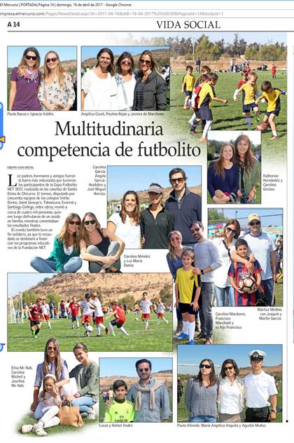 El mercurio Domingo 16 de Abril