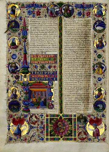 009-Bibbia di Borso d'Este-Vol 1- Hoja 54- Biblioteca Estense de Módena