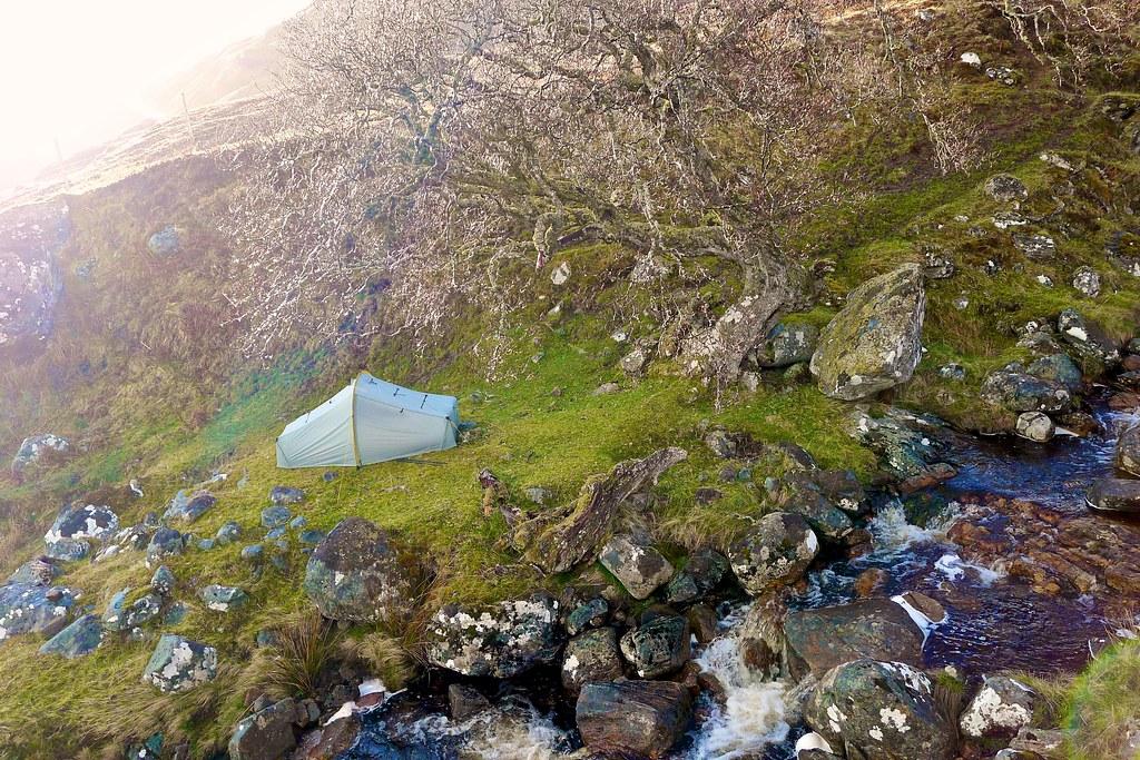 Idyllic Wild Camping