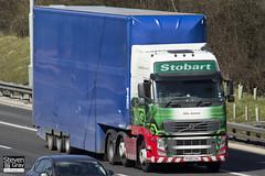 Volvo FH 6x2 Tractor - PX60 CKL - Ellie Joanne - Eddie Stobart - M1 J10 Luton - Steven Gray - IMG_7687