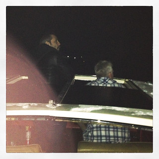sunroof boat night