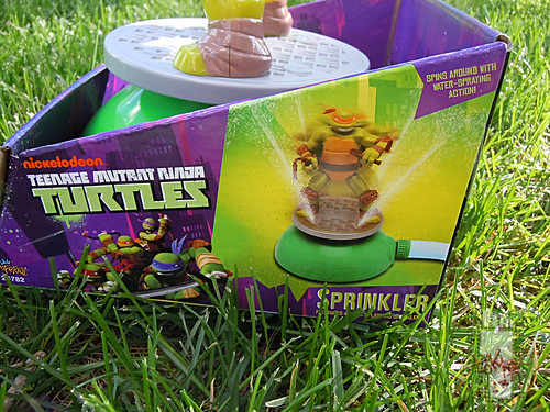 IMPERIAL TOY LLC. :: Nickelodeon TEENAGE MUTANT NINJA TURTLES :: SPRINKLER vi (( 2013 ))