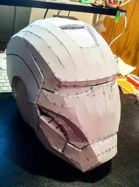 noob fate helmet pepakura build found - evolveStar Search