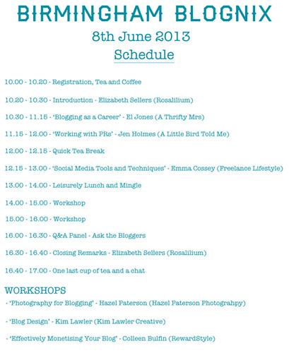 Blognix Schedule