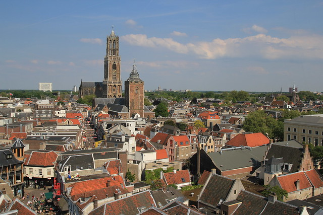 View on Utrecht