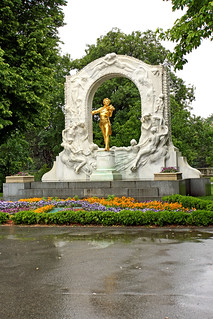Image of Johann Strauss Monument. vienna statue gold austria tour sony free dennis jarvis johann waltz insight conductor composer strauss johannstraussii iamcanadian freepicture dennisjarvis archer10 dennisgjarvis nex7 sel35f18 18200diiiivc