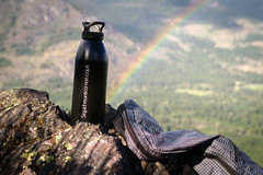 Packing Cube Backpack + Motto Bottle