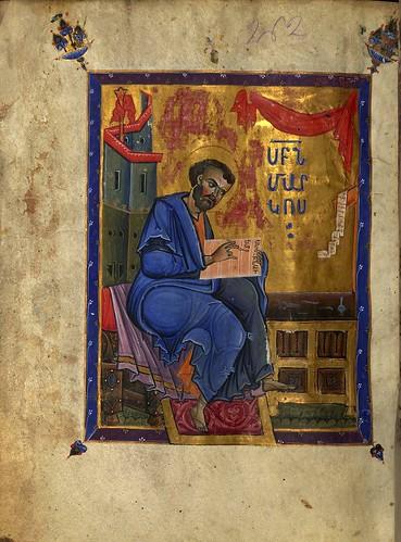 010-El evangelista Marcos-W.539.130V-Walters Art Museum