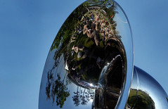 world, tree, sunlight, reflection, blue, sky,